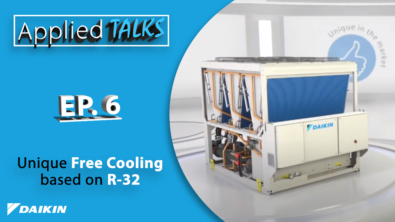 Applied Talks – EWAT-B R32 Chiller with Free Cooling