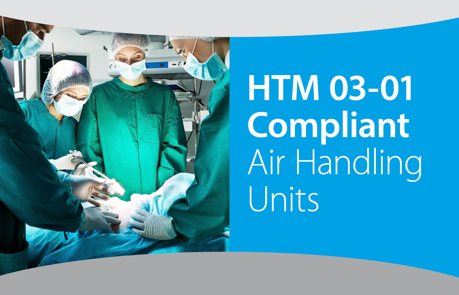 HTM 03-01 Compliant Air Handling Units